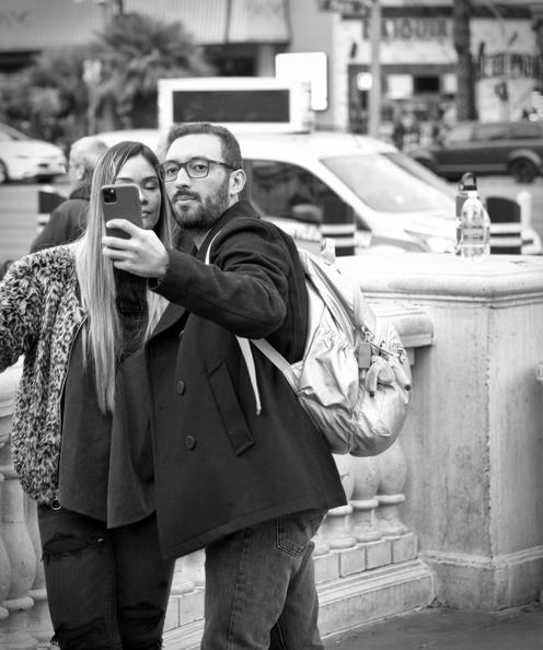 Couple at Bellagio